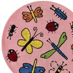 Kids Family Bugs pink-2 | Rugs | Kateha