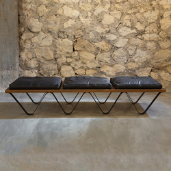 Grande Vague | Waiting area benches | Karen Chekerdjian