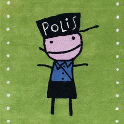Kids Family Polis green | Rugs / Designer rugs | Kateha