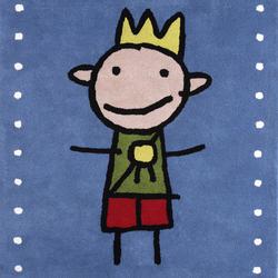 Kids Family Prins blue | Rugs / Designer rugs | Kateha