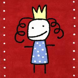 Kids Family Prinsessa red | Rugs / Designer rugs | Kateha