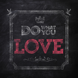 Do what you love | Carta da parati | Wall&decò