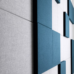 Soneo Wall | Sound absorbing fabric systems | Abstracta