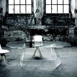 Quake | Tables de repas | Glas Italia