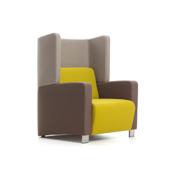 Level 3 | Lounge chairs | Red Stitch