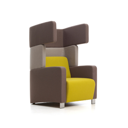 Level 5 | Lounge chairs | Red Stitch