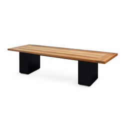 Cima Doble Bench 160 | Garden benches | FueraDentro