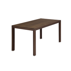 Dining table solid wood smoked oak | Tables de repas | Alvari