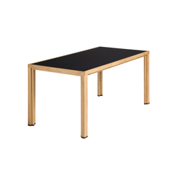 Dining table linoleum night oak | Tables de repas | Alvari
