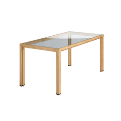 Dining table glass oak | Tables de repas | Alvari