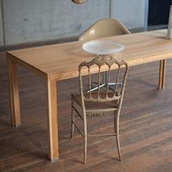 Dining table solid wood oak top | Tables de repas | Alvari