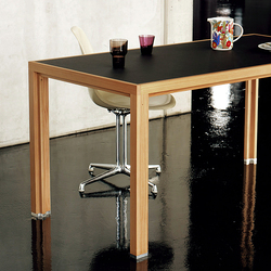 Dining table linoleum night larch | Tables de repas | Alvari