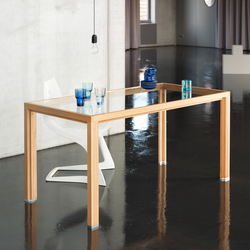 Dining table glass larch | Tables de repas | Alvari