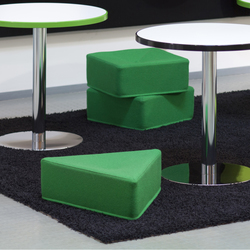 Mukula | Modular seating elements | Isku