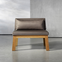 NIEK loveseat outdoor | Fauteuils de jardin | Piet Boon