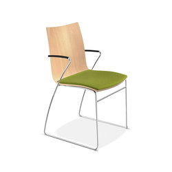 Onyx I 2241/10 | Visitors chairs / Side chairs | Casala