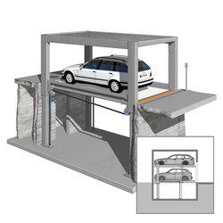 MultiBase U1 | Automatic parking systems | KLAUS Multiparking