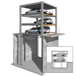 MultiBase U3 | Mechanic parking systems | KLAUS Multiparking