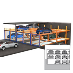 TrendVario 4000 | Semi automatic parking systems | KLAUS Multiparking