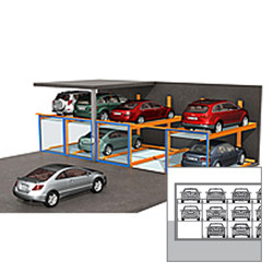 TrendVario 4200 | Semi automatic parking systems | KLAUS Multiparking