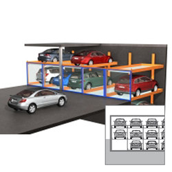TrendVario 4300 | Semi automatic parking systems | KLAUS Multiparking