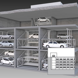 MasterVario R3C | Fully automatic parking systems | KLAUS Multiparking