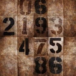 Countdown | Carta da parati / carta da parati | Wall&decò