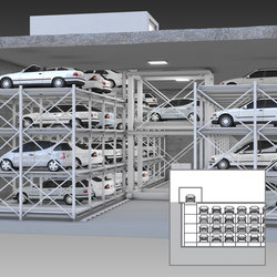 MasterVario R3L | Fully automatic parking systems | KLAUS Multiparking