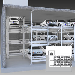 MasterVario F3 | Automatic parking systems | KLAUS Multiparking