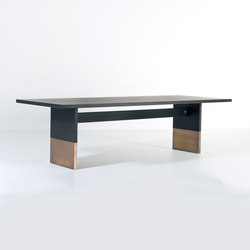 Nota Bene dining table rectangular | Mesas comedor | Van Rossum