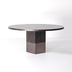 Nota Bene dining table round | Dining tables | Van Rossum