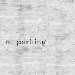 No Parking | Wandbeläge / Tapeten | Wall&decò