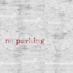 No Parking | Carta da parati / carta da parati | Wall&decò