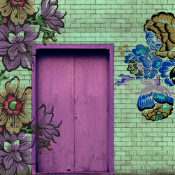 Rocking Doors | Wall art / Murals | Wall&decò