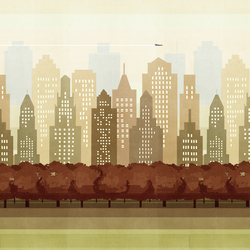 Central Park | Wall art / Murals | Wall&decò