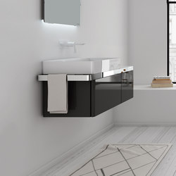 Structure Bathroom Furniture Set 5 | Meubles sous-lavabo | Inbani