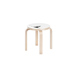 Children's Stool NE60 Moomin | Little My | Kinderhocker | Artek