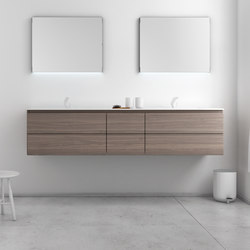 Strato Bathroom Furniture Set 22 | Vanity units | Inbani
