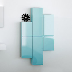 Strato Levels Wall Cabinet | Wall cabinets | Inbani