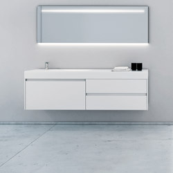 Strato Bathroom Furniture Set 25 | Meubles sous-lavabo | Inbani