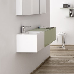 Strato Bathroom Furniture | Vanity units | Inbani