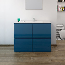 Strato Bathroom Furniture Set 26 | Meubles sous-lavabo | Inbani