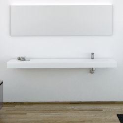 Strato Bathroom Furniture Set 16 | Wash basins | Inbani