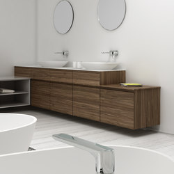 Strato Bathroom Furniture Set 15 | Vanity units | Inbani