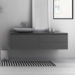 Strato Bathroom Furniture Set 19 | Vanity units | Inbani