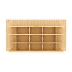 Book Wall Shelf (low) | Regale | Time & Style