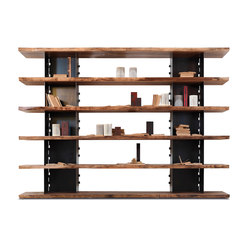Brie | Office shelving systems | Riva 1920