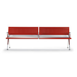 Transit Bench | Waiting area benches | actiu