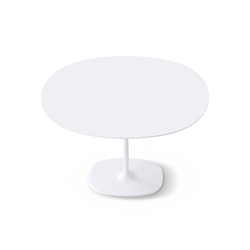 Dizzie | H 105 - Oval base | Bar tables | Arper