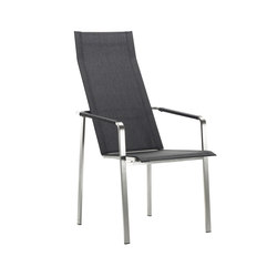 Jazz Recliner, high back | Garden chairs | solpuri